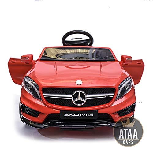 ATAA Mercedes GLA Coche eléctrico para niños batería 12v con Mando Padres...
