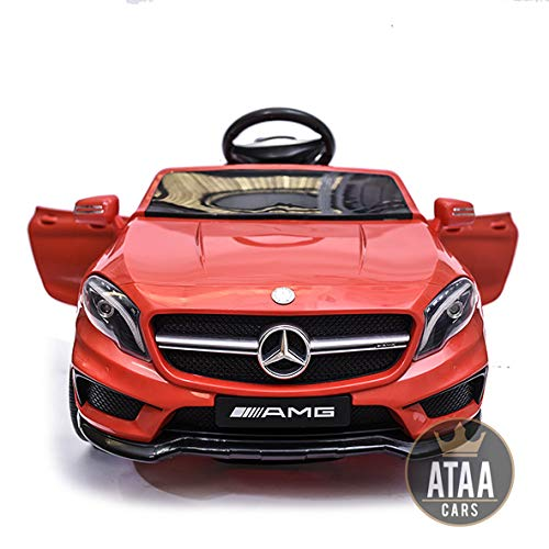 ATAA CARS Mercedes GLA 12v Voiture électrique pour Enfant avec Télécommande- Rouge