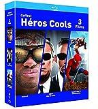 COFFRET SUPER HEROS Blu-ray - Hancock / Spider-man : Homecoming / Men in Black -...