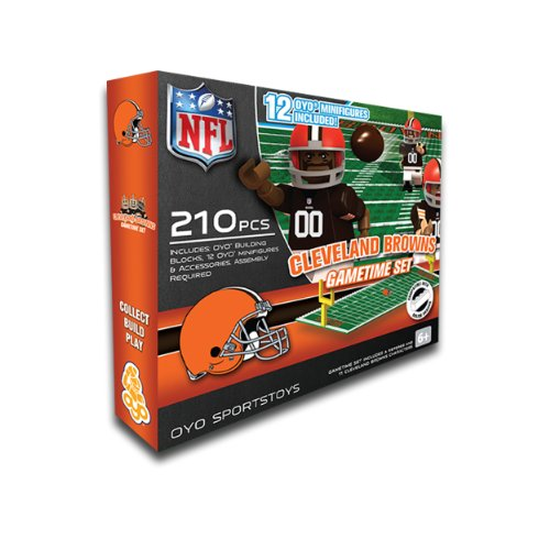 OYO NFL Cleveland Browns Game Time Set