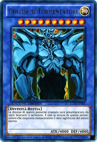 Yu-Gi-Oh! - YGLD-ITG02 - Obelisk il Tormentatore - I Deck Leggendari di Yugi - Ultra Rara