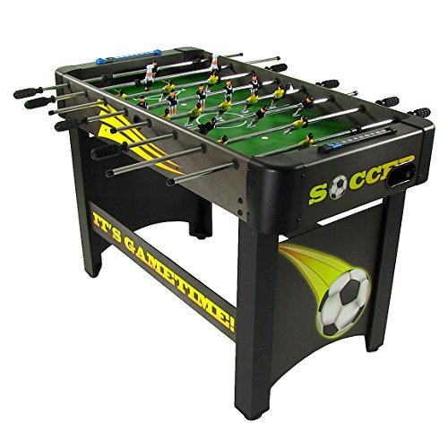 Sunnydaze 48-Inch Indoor Foosball Table -...