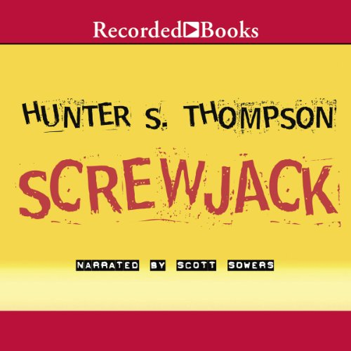 Screwjack audiobook cover art