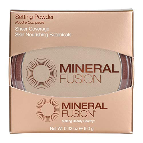 Mineral Fusion Setting Powder, Hypoallergenic, Paraben Free, 0.32 Ounce (Packaging May Vary)