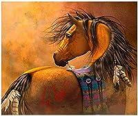 動物ダイヤモンド刺繡ペガサスディアマンド絵画家の装飾ラインストーン馬ディアマンドモザイク画像40x50cm