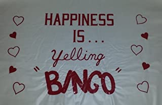 Bingo Dauber Mat (Happiness is Yelling Bingo)