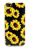 FAteam Case for iPhone SE (2016), Sunflower Flower...