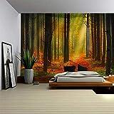 Indian Wall Hanging Toalla Doble Playa Tapiz De Bosque Apartamento Dormitorio Sala De Estar Decoración 230X180Cm