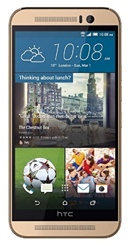 HTC One M9 32GB Unlocked GSM Android Smartphone w/ 20MP Camera - Amber Gold