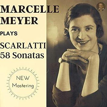 Scarlatti by Marcelle Meyer: 58 Keyboard Sonatas