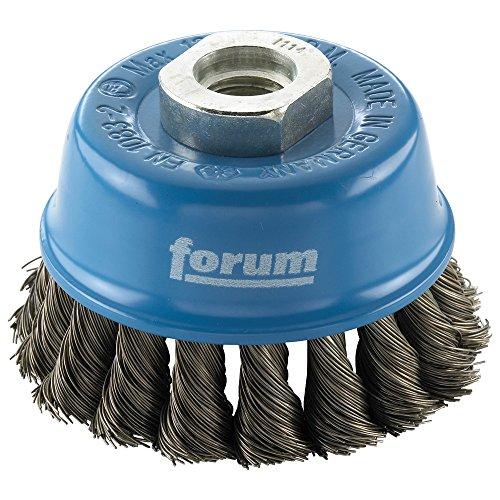 Forum brosse fil d'acier torsadé M14 65 x 0,50 mm, 4317784861595 nouée