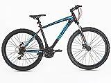 Greenway - Mountain bike, telaio e forcella in acciaio, sospensione anteriore,...