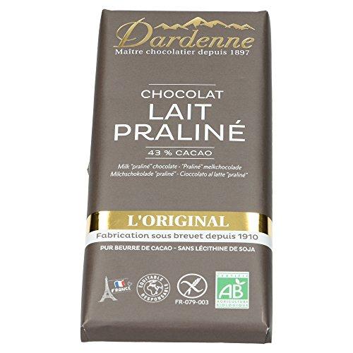 Dardenne - Tablette Tradition - Chocolat au Lait - Biologique - 100 g