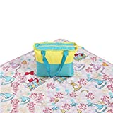 AHYUAN Picnic Mat Beach Blanket Camping Sheet Water Resist Oxford Cloth Machine Washable Extra Large Mat for Beach,Camping and Outdoor Activities,with a Tote Bag