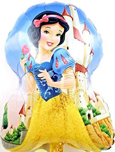 SauParty Helio Globos XL Disney Blancanieves Infantil Cumpleaños Balloon