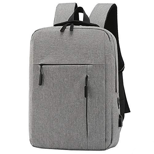 Pvnoocy Mochila antirrobo para ordenador portátil de 15,6 pulgadas, mochila escolar, multifunción, bolsa de negocios, resistente al agua, grande con puerto de carga USB para trabajo y viajes