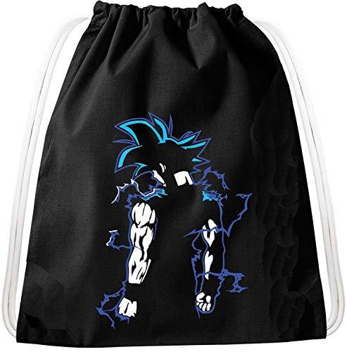 Goba Goku Dragon Rucksack Tasche Turnbeutel Sport Jute Beutel, Rucksack