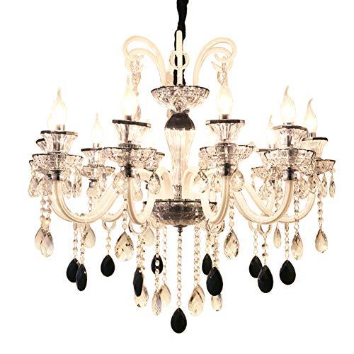 Kristall Lampe Glas Pendelleuchte Kerze Kristalllüster Moderne Deckenleuchten Kronleuchter Moderne Esszimmerlampen 8 Lichter