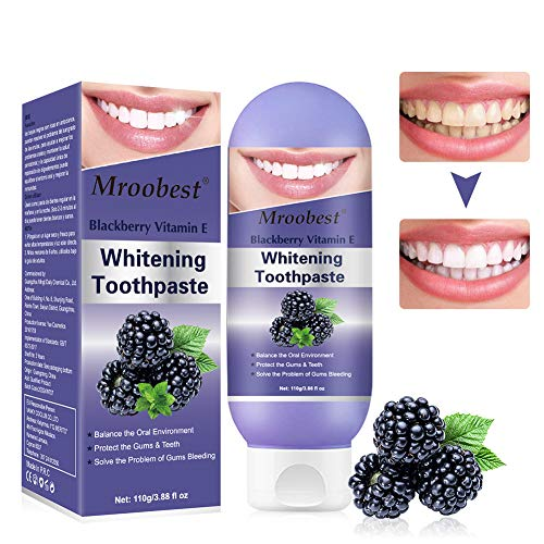 Whitening Toothpaste, Stain Removal Toothpaste, Whitening Zahnpasta, Fluoridfreie Zahnpasta, Reduzieren Sie Zahnfleischbluten, erhalten Sie die parodontale Gesundheit und bringen Sie frischen Atem