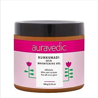 Auravedic Kumkumadi Skin Brightening Gel - A perfect way to start your day. Revive dull skin with natural kumkumadi and ma...