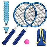 Niños Bádminton Set Raquetas Sputtlecocks Children Outdoor Beach Sports Game Juguetes para Equipo Ejercicio