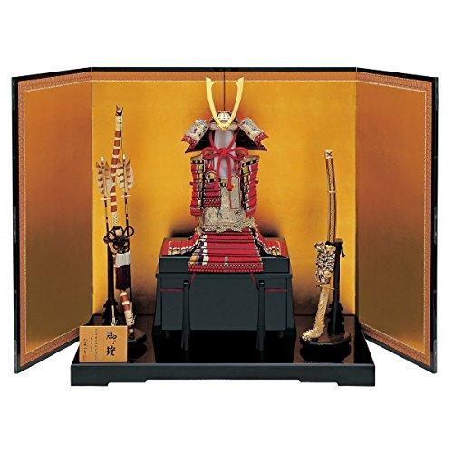 加藤一冑五月人形極上妻取鎧飾り横幅150×奥行62×高さ106cm13mata-31