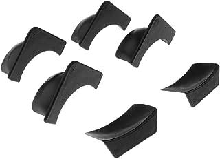 FLAMEER 6 Pezzi Sostituzione Tavolo da Biliardo in Plastica Tascabile Fodere Universale si Adatta Maggior Parte delle Tabelle Coin Bigliardo Pocket Liners