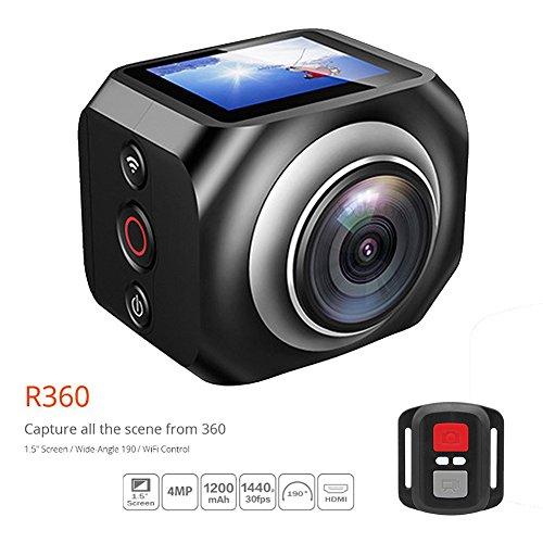 Neue WiFi CAM Mini Sport-Action-Kamera VR camera1.5inch TFT LCD 1920 * 1080 @ 30 fps HD-Camcorder mit 2,4 g WiFi-Fernbedienung