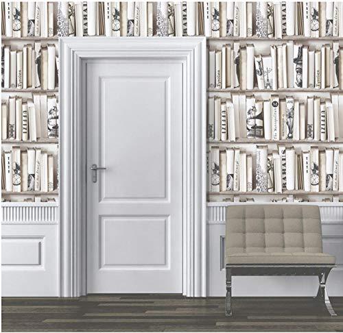 Xcmb Foto-Tapeten-Design Moderne Seitenwand-Tapete, Neuheiten-Tapetenrolle Enzyklopädien-Tapete Fernsehhintergrundschlafzimmer-Büroloungedekoration-300Cmx210Cm