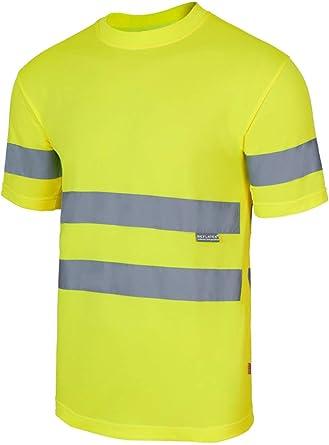 VELILLA - Camiseta Técnica Alta Visibilidad 305505 Hombre