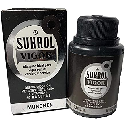 Sukrol Vigor Testosterone Booster Libido Last Longer in Bed for Men (Charcoal Mask Included)