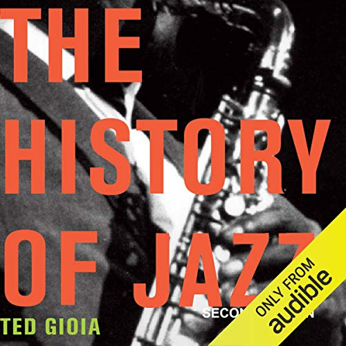 Diseño de la portada del título The History of Jazz, Second Edition