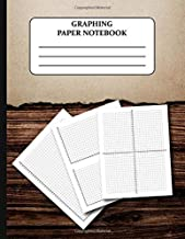Graphing Paper Notebook: Coordinate Plane Graph Paper Grid Worksheets