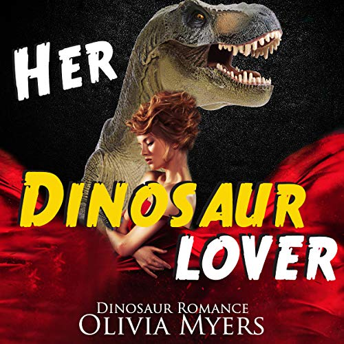 Her Dinosaur Lover audiobook cover art
