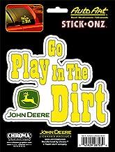CHROMA 8703 John Deere Go Play in The Dirt Stick Onz Decal
