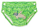 Playshoes UV-Schutz Windelhose Robbe zum Knöpfen Capo d'Abbigliamento, Blu (Blau/Grün 791), (Herstellergröße: 62/68) Baby Jungen