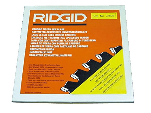 Ridgid 71692 14-Inch Carbide-Tipped 80 Tooth Blade for Dry Cut Saw