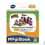 V Tech - MagiBook - Le travail en équipe avec Mickey et ses amis ! - Version FR