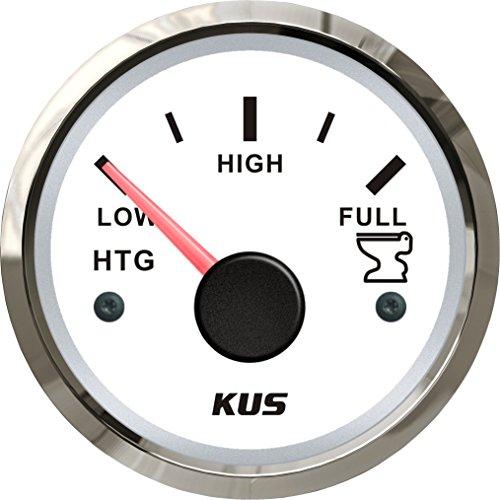 Depósito de Kus Medidor de nivel Indicador 0-190ohm 12V/24V 52mm (2