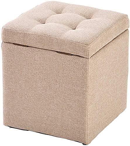Sgabello da poggiapiedi che cambia sgabello sgabello sgabello sgabello cubo ottomani sedile da banco, scatola del giocattolo Ottomans vassoio vassoio box toract scarpa panca sgabello sgabello sedile s