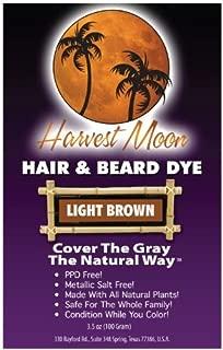 Natural Light Brown Beard Dye - 100 Grams