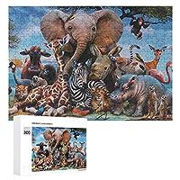 カイジ動物世界 300ピースのパズル木製パズル大人の贈り物子供の誕生日プレゼント