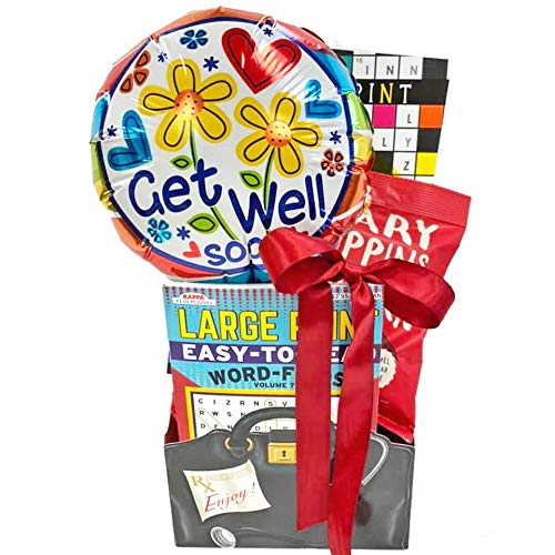 Gifts Fulfilled Get Well Gift Baskets for Men, Women, Teens, Kids with...