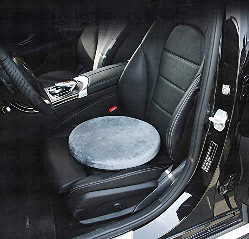 Seat Cushions, 360° Rotating Car Seat Cushions Antiskid Swivel Chair Pad Use to Relieve Back Pain and Pressure