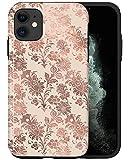 CASFY - Funda para iPhone 11, diseño floral marfil KU112_5