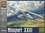 COPPER STATE MODELS Maquette Avion Nieuport XXIII