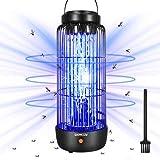Qxmcov Lampe Anti-Moustique Electrique, 11W 40m²...