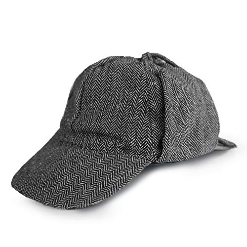 Squirrel Products Detective Hat - One Size - Costume Accessory Gray
