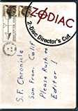 Zodiac: The Director's Cut (Two-Disc Special Collector's Edition)