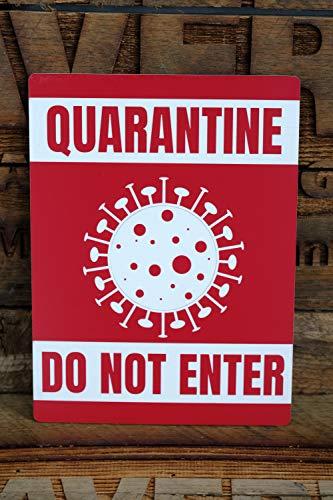 Quarantine - Door Sign for Coronavirus & COVID-19